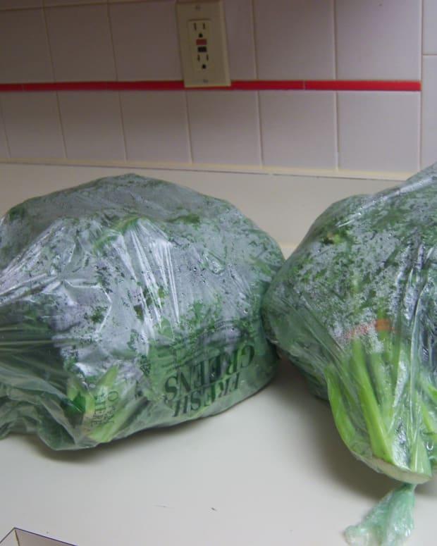 6 bushels of Kale Greens (3 bushels per bag).