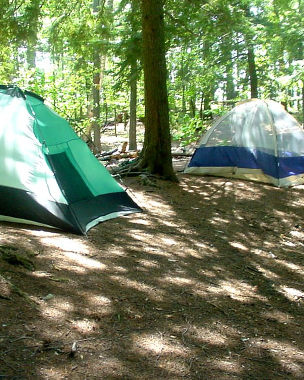 Tents (photo by Dolores Monet)