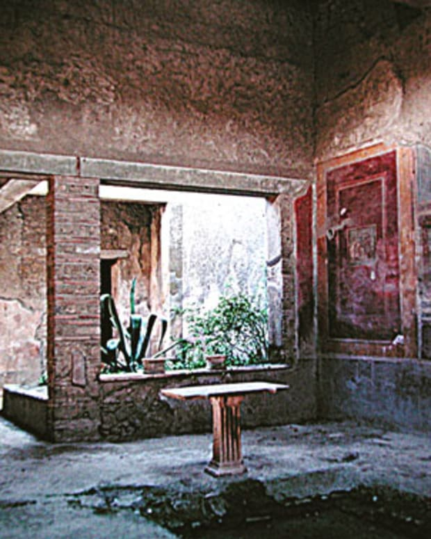 The home of Fabius Amandus, in Pompeii.