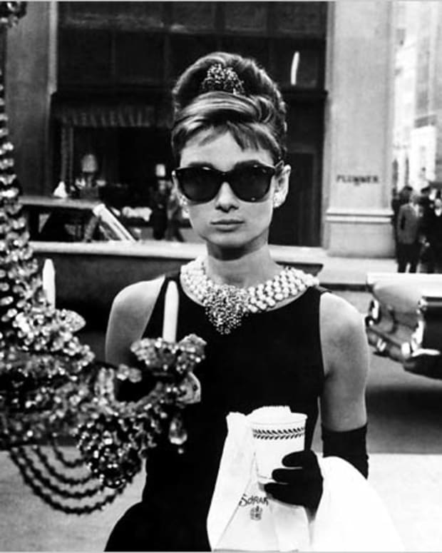 Audrey Hepburn as the fabulous Holly Golightly