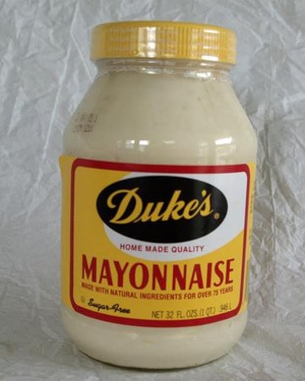 Duke's Mayonnaise, CF Sauer Company, Richmond, VA.  Photo from Flickr.com.