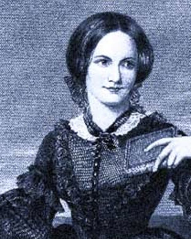 Charlotte Bronte, author of Jane Eyre and The Professor
