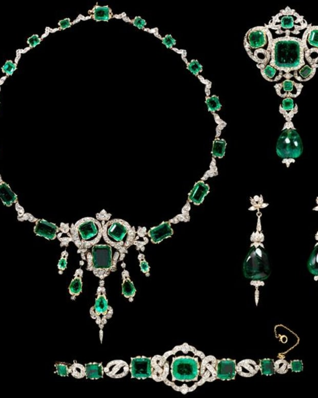 The spectacular Seringapatam Jewels on display in the V&A Museum
