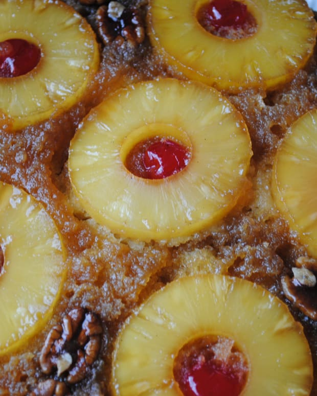 pineapple-upside-down-cake-iron-skillet-glory