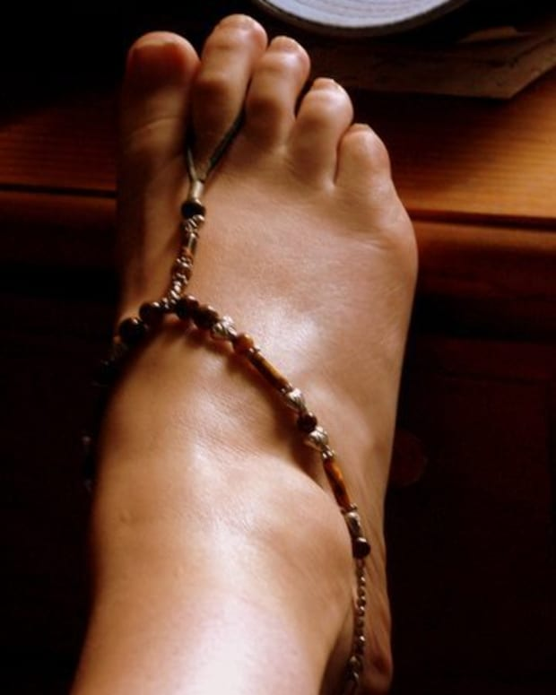 Grecian foot