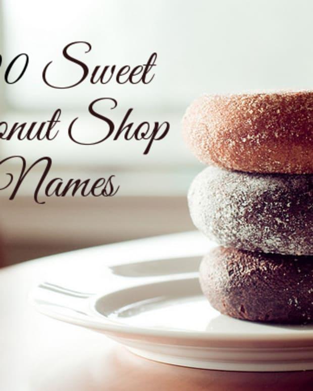 甜甜圈 - 商店名字