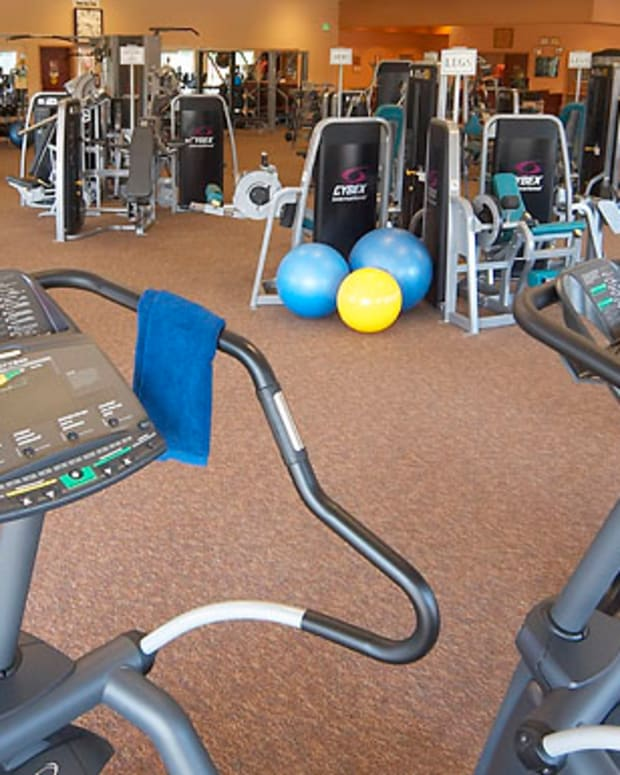 Active adult fitness centers... the Fitness Center at Leisure World Arizona