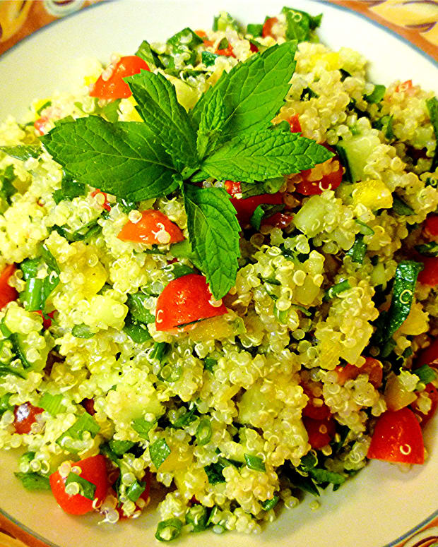 Quinoa side dish * Photo by Peggy W