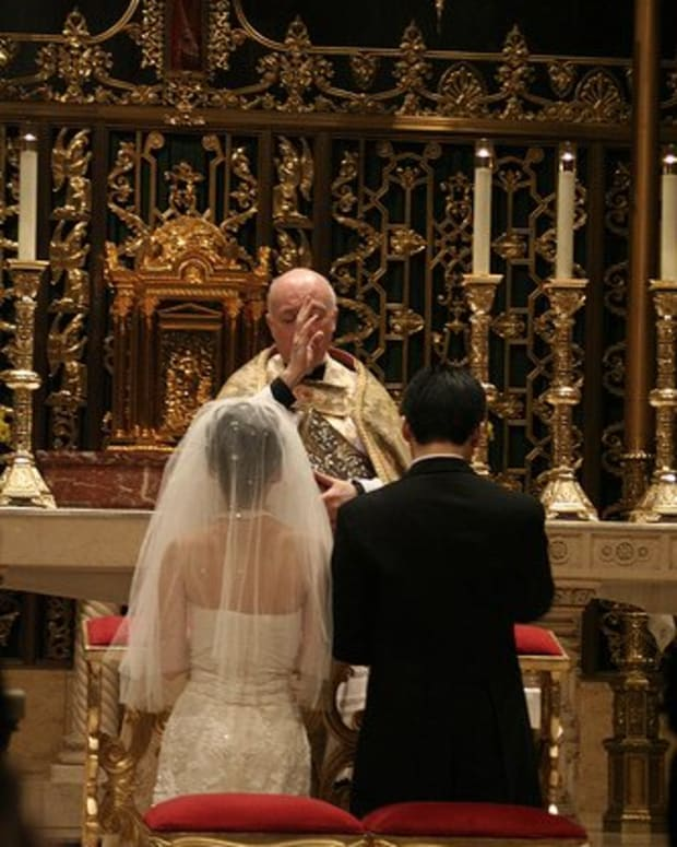Marriage is a Sacrament in the Catholic religion.