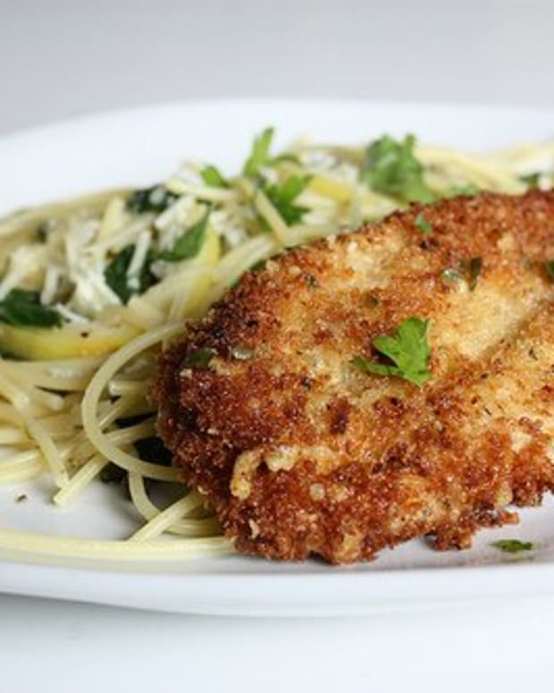 Parmesan Crusted Chicken Cutlet