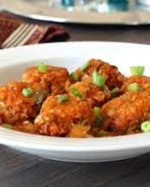 vegetable-manchurian-chinese-starter