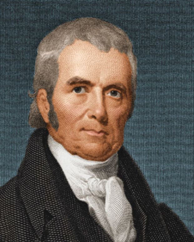 a biography of john marshall the first chief justice John marshall, who served in the continental army and went on to become chief justice of the us supreme court, once described leadership in action marshall (1755-1835) completed the first serious biography of george washington eight years after washington died.