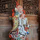 This statue depicts the God of Long Life, Shouxing.