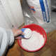 dry sheetrock powder