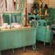 Teal furniture