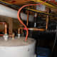 Stop valve to water heater