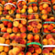If you find yourself overrun with peaches from your tree, you can always set up a roadside stand or sell them at a local farmers' market.