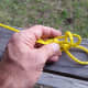Adding a slip half-hitch, step 2