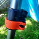 The length of the Black & Decker LST540 Brushless String Trimmer can be quickly adjusted.