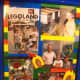 Lego Scrapbook using Lego paper and pictures from Legoland.