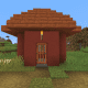 This adorable small house is located in a desert biome village.