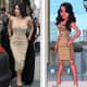 Kim Kardashian wears a gorgeous beige dress in Paris