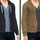 Open hoodies for guys!