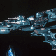 Aeldari Corsair Cruiser - Eclipse [Sky Raiders - Sub-Faction]