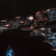 Aeldari Corsair Cruiser - Shadow [Steeleye Reavers - Sub-Faction]