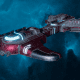 """Tau Merchant Fleet Destroyer - """"Messenger"""" - [Farsight Enclave Sub-Faction]"""