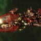"Ork Attack Ship - ""Ravager"" - [Evil Sunz Sub-Faction]"
