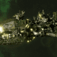 """Ork Attack Ship - """"Ravager"""" - [Blood Axes Sub-Faction]"""