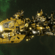 """Ork Attack Ship - """"Ravager"""" - [Bad Moons Sub-Faction]"""