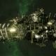 """Ork Attack Ship - """"Onslaught"""" - [Blood Axes Sub-Faction]"""