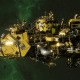 "Ork Attack Ship - ""Onslaught"" - [Bad Moons Sub-Faction]"