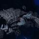 "Tyranid Light Cruiser - ""Corrosive Projectile Voidprowler"" - [Ouroboris Sub-Faction]"