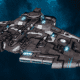 "Tau Protector Fleet Cruiser - Lar'Shi'Vre ""Protector"" T'Olku - [D'Yanoi Sub-Faction]"