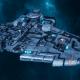 "Tau Protector Fleet Cruiser - Lar'Shi'Vre ""Protector"" T'Olku - [Sa'cea Sub-Faction]"