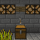 This switch controls the redstone lamp circuit on this level of the farm.