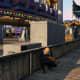 Spot near transformer. Behind the wall near the Roller Coaster.