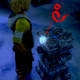 """It's difficult to see, but this Macalania Sphere has a dark """"ice"""" sign in the middle of it. The Besaid, Kilika, Djose and Bevelle spheres are also marked, each with that temple's element."""