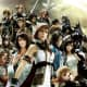 Cosmos's warriors in Dissidia 012