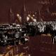 Adeptus Astartes Light Cruiser - Vanguard MK.II (Raven Guards Sub-Faction)