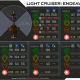 Endeavour - Weapon Damage Profile (Secondary Sides)