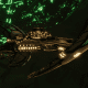 Necron Light Cruiser - Shroud (Mephrit Sub-Faction)