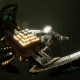 Necron Light Cruiser - Khopesh (Mephrit Sub-Faction)