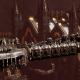 Adeptus Astartes Battleship - Battle Barge MK.I (White Scars Sub-Faction)