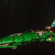 Asuryani Cruiser - Firestorm Dragonship [Biel-Tan - Eldar Sub-Faction]