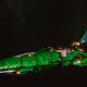 Asuryani Cruiser - Moonray Dragonship [Biel-Tan - Eldar Sub-Faction]
