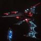 Aeldari Corsair Destroyer - Nightshade [Void Dragon - Eldar Sub-Faction]